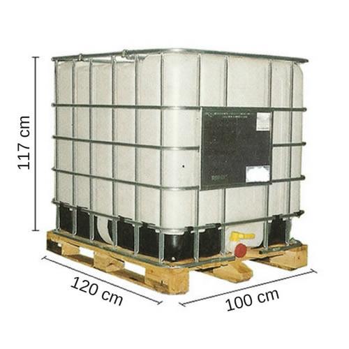Tanque ibc 1000 litros para uso s ptico tankes Tanque de agua 1000 litros