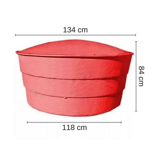 Tanque 1000 litros en prfv para agua con protecci n uv Tanque de agua 1000 litros