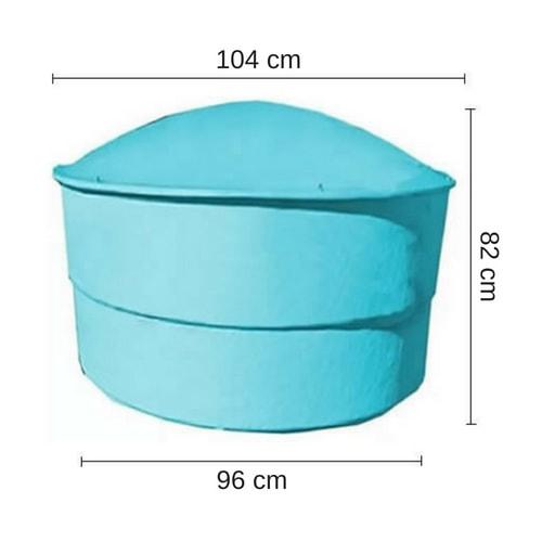 Tanque 500 Litros En Prfv Para Agua Con Protecci N Uv